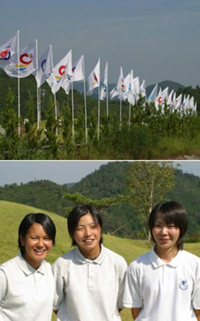 国体のゴルフが開幕した。注目の宮城県勢、宮里、和田、佐々木
