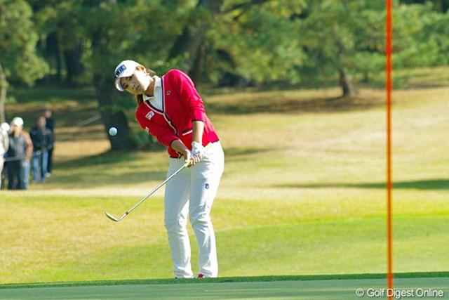 2012年 LPGAツアーチャンピオンシップリコーカップ 3日目 イ・ボミ 強風の中で着実にスコアを伸ばし、メジャー初制覇に王手をかけたイ・ボミ