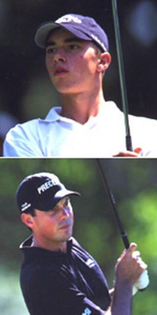 2002年 米ツアー期待の若手2人がカシオワールドOPに出場 上)タイ・トライオン 下)マット・クーチャー