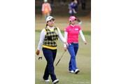 2012年 LPGAツアーチャンピオンシップリコーカップ 最終日 朴仁妃 イ・ボミ