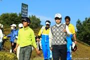 2012年 カシオワールドオープン 最終日 ハン・ジュンゴン 上井邦浩