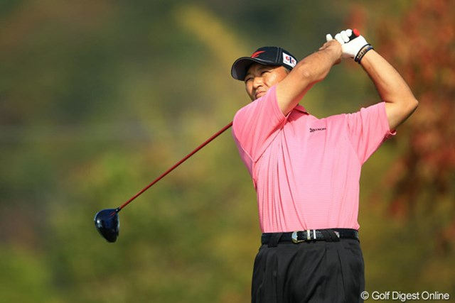 2012年 カシオワールドオープン 最終日 細川和彦 計り知れない重圧に打ち勝った細川和彦。来季は2年ぶりにシード選手に復帰する。