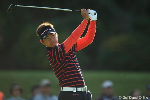 2012年 カシオワールドオープン 最終日 藤田寛之 次週は2連覇中の国内メジャー最終戦。初の賞金王を派手に飾るか。