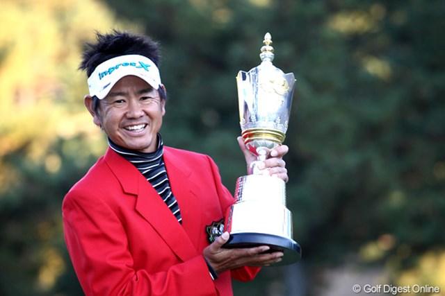 2012年 ゴルフ日本シリーズJTカップ 事前 藤田寛之 賞金王目前の藤田寛之が大会3連覇に挑む