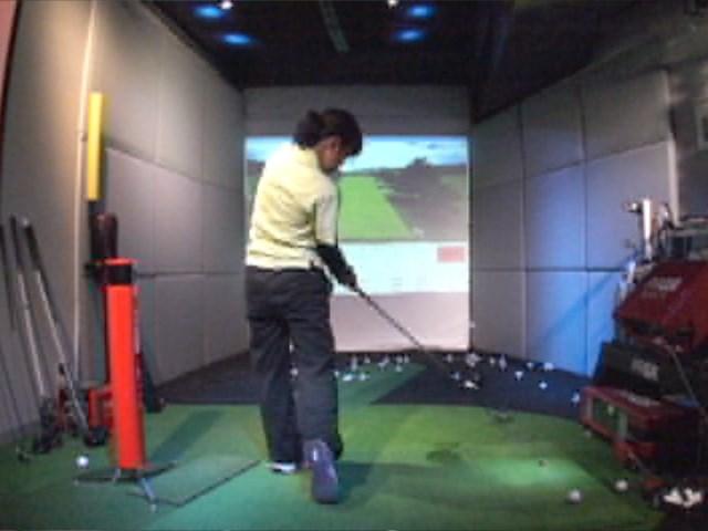 ゴルフ部Kさん2 1-2