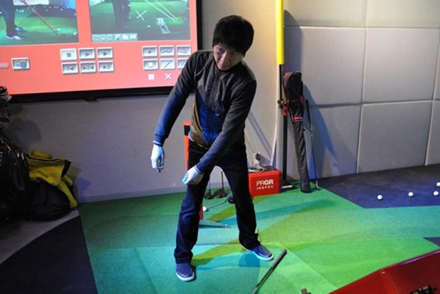 ゴルフ部Kさん2 レッスン1