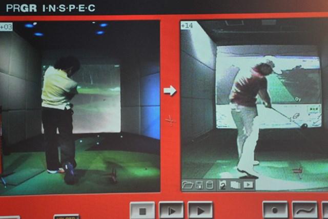ゴルフ部Kさん2 レッスン3