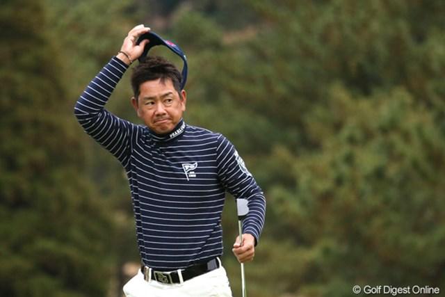 コースレコードタイの「61」をマークして最高のスタートを切った藤田寛之。