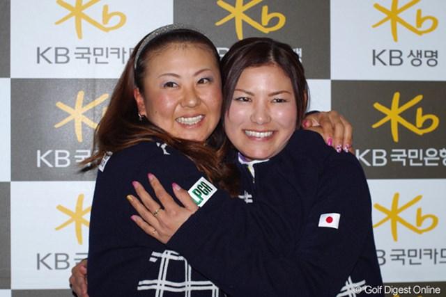 2012年 日韓女子プロゴルフ対抗戦 事前情報 横峯さくら&佐伯三貴 同組の佐伯三貴とのチームワークは文句なし?