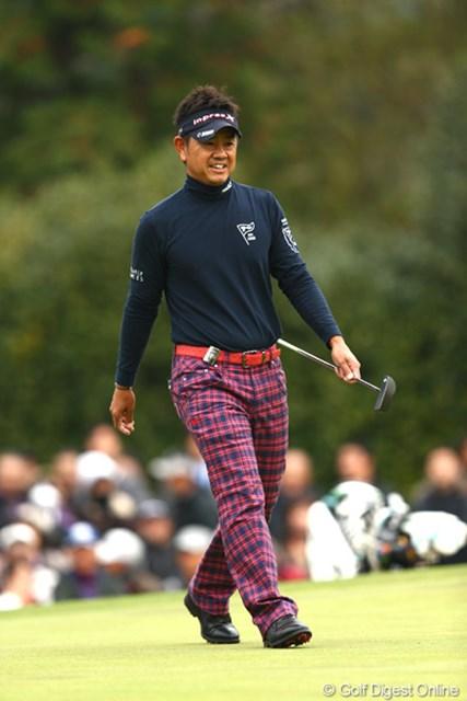 2012年 ゴルフ日本シリーズJTカップ 2日目 藤田寛之 余裕を感じますね~