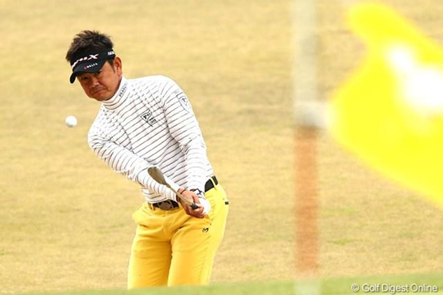 3日間首位を突っ走る藤田寛之。大会3連覇へ6打差で最終日へ