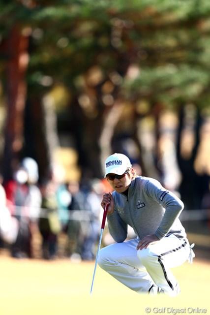 2012年 ゴルフ日本シリーズJTカップ 3日目 キム・キョンテ 最終日は藤田寛之、谷口徹と最終組でラウンドすることになったキム・キョンテ