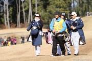 2012年 日韓女子プロゴルフ対抗戦 初日 吉田弓美子&成田美寿々
