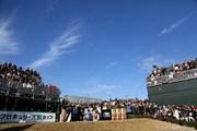 2012年 ゴルフ日本シリーズJTカップ 最終日 1番ティ