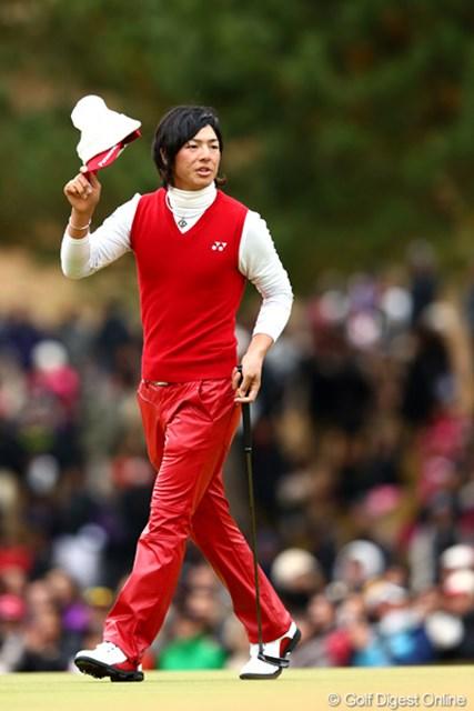 6位タイで国内男子ツアーの今季最終戦を終えた石川遼。