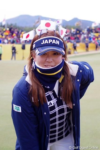 2012年 日韓女子プロゴルフ対抗戦 最終日 吉田弓美子 吉田ですけど、何か?八つ墓村とは言わないで。