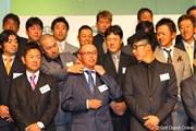 2012年 ジャパンゴルフツアー表彰式 谷口徹&すし石垣