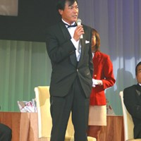 サンドセーブ賞 張連偉 2002年度ジャパンゴルフツアー表彰式 張連偉
