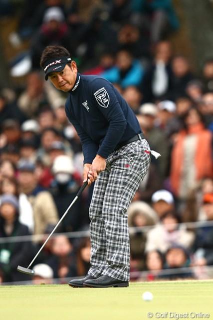 初日から「61」をマークし圧倒的な強さを見せて逃げ切った藤田寛之。