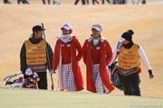 2012年 日韓女子プロゴルフ対抗戦 最終日 チェ・ナヨンとキム・ジャヨン