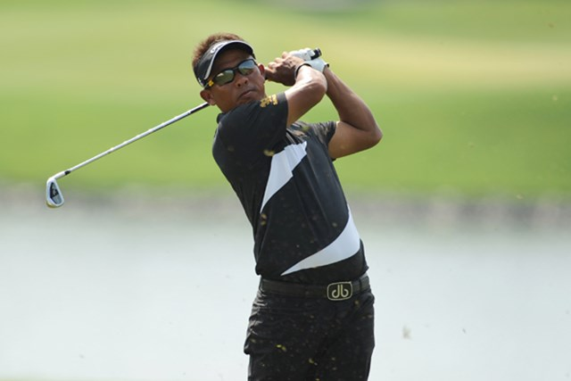タイゴルフの象徴、トンチャイ・ジェイディ。今大会を見ても、タイゴルフ界の盛り上がりが分かる。(提供:アジアンツアー)