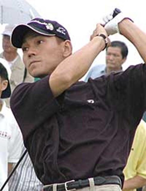 今シーズン2勝で賞金トップの田中秀道