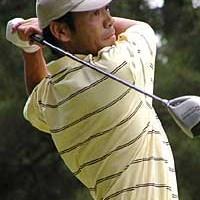 プロ12年目の初勝利となった福沢義光 2001年 タマノイ酢よみうりオープンゴルフトーナメント 最終日 福沢義光