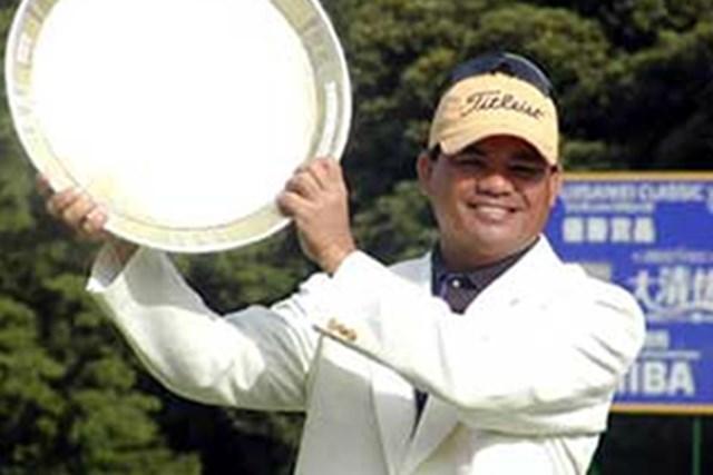 2001年 フジサンケイクラシック 最終日 フランキー・ミノザ 日本ツアー6勝目のフランキー・ミノザ