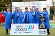 2012年 Hitachi 3Tours Championship PGAチーム