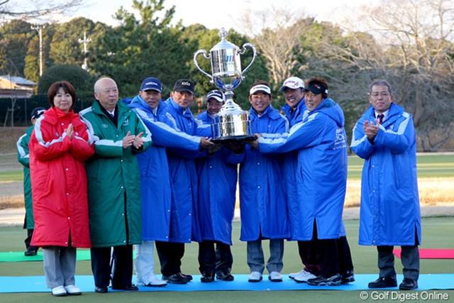 PGAが3年ぶりにタイトル獲得!強風の中で熟練の技が冴えました