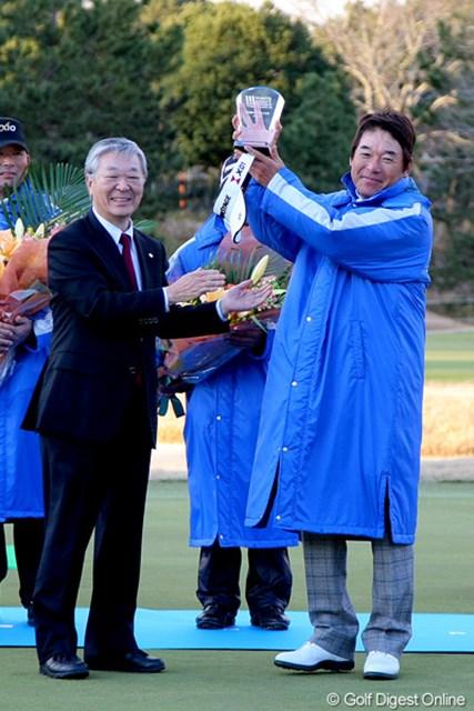 今年のMVPは尾崎直道。逆転勝利を呼び込んだ18番のチップインバーディはお見事でした!