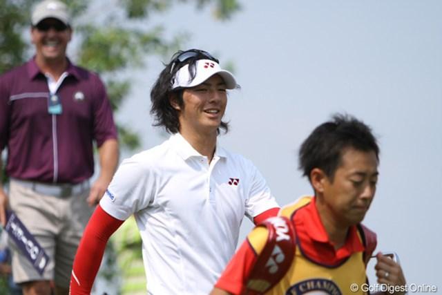 2012年 タイゴルフ選手権 最終日 石川遼 ミスが出ながらも上位に食い込んだのは、実力が底上げされた証。本人がその手応えを一番感じているはずだ
