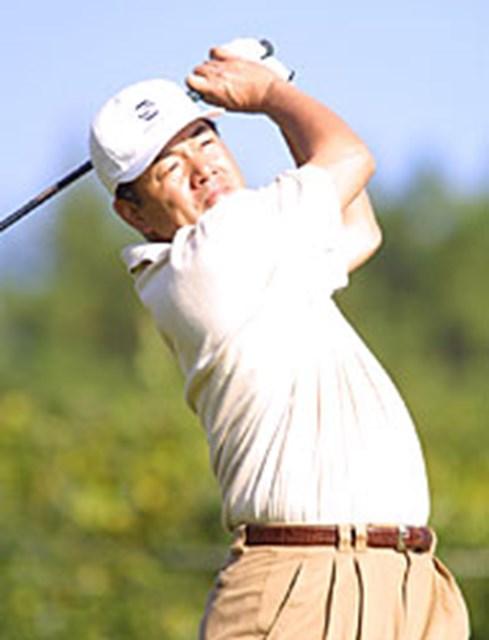 2001年 カシオワールドオープンゴルフトーナメント 3日目 室田淳 ガルシアをも寄せ付けず、室田が20アンダーで独走!