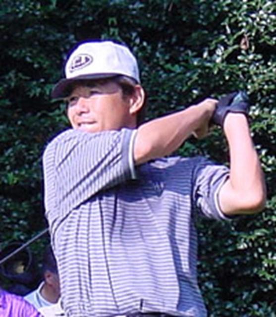 2001年 日本オープンゴルフ選手権競技 初日 尾崎直道 3連覇を狙う尾崎直道