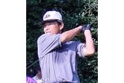 2001年 日本オープンゴルフ選手権競技 初日 尾崎直道