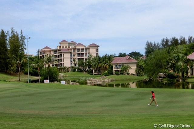 2012年 ザ・ロイヤルトロフィ 事前 エンパイアホテル&CC ジャック・二クラス設計のリゾートコース。地域独特のルールにプレーヤーはーどう対応するか。