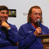 スペイン出身の最年長コンビ。年はとっても衰えない実力は実績が証明している。 2012年 ザ・ロイヤルトロフィ 事前情報  ホセ・マリア・オラサバル&ミゲル・アンヘル・ヒメネス