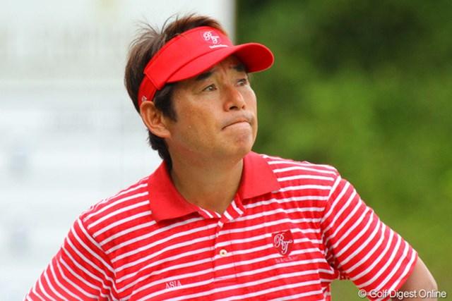 1ポイント差に迫って最終日を迎えるアジアチームの尾崎直道キャプテン。