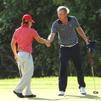 ゴルフは身長ではない。 2012年 ザ・ロイヤルトロフィ 最終日 マルセル・シーム&藤本佳則
