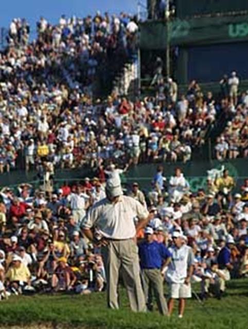 2001年 全米オープン 最終日