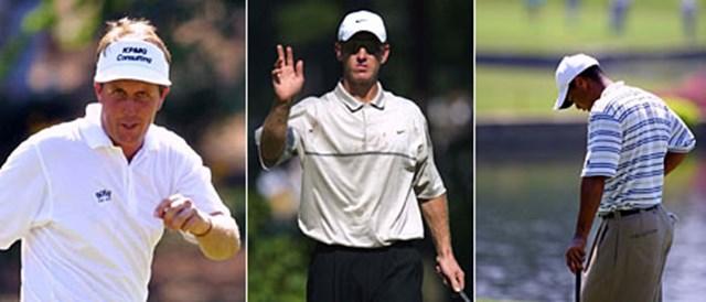 P.ミケルソンは気合十分。D.デュバルも静かにスコアを伸ばす。対照的に苦しいゴルフが続くT.ウッズ。