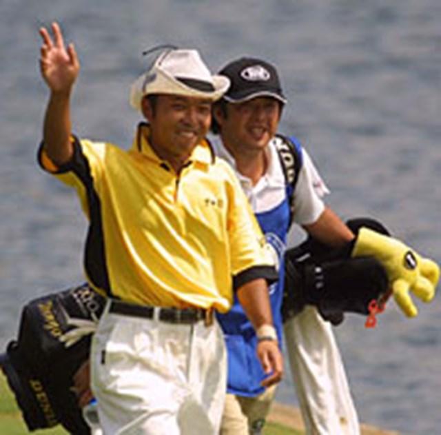 2001年 全米プロゴルフ選手権 最終日 片山晋呉