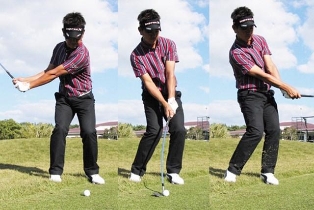 wgdnews20130108 「常に体の正面に腕とクラブがある。これが基本です」と藤田