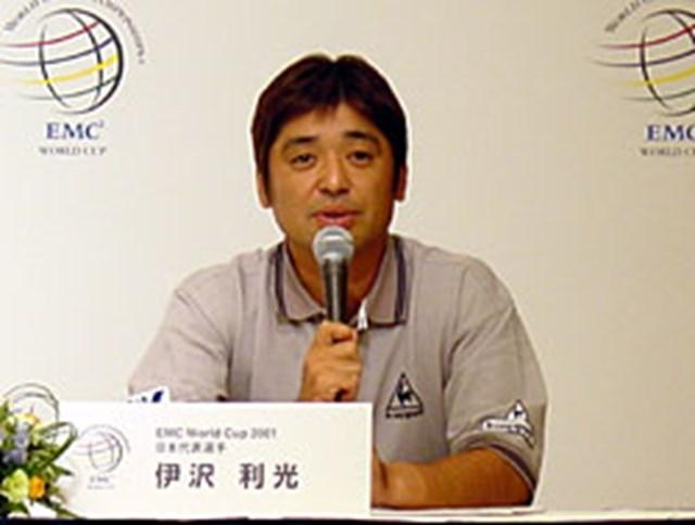 2001年 EMC World Cup シード18カ国が決定、日本選手代表も決まった! 選手を代表して抱負を語る伊沢利光
