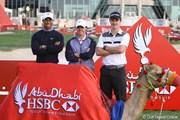 2013年 アブダビHSBCゴルフ選手権 タイガー・ウッズ、ロリー・マキロイ、ジャスティン・ローズ