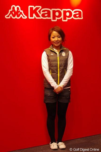 以前から着用していた「Kappa」と契約をかわした林綾香
