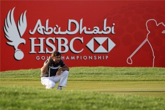 2013年 アブダビHSBCゴルフ選手権 事前 ロバート・ロック 親友J.ドナルドソンの「マスターズ」出場を刺激とし、大会連覇に挑むR.ロック(Getty Images)