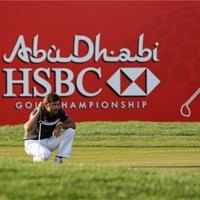親友J.ドナルドソンの「マスターズ」出場を刺激とし、大会連覇に挑むR.ロック(Getty Images) 2013年 アブダビHSBCゴルフ選手権 事前 ロバート・ロック