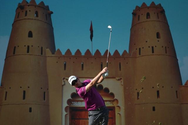 2013年 アブダビHSBCゴルフ選手権 初日 ジャスティン・ローズ 2つのビッグプレーで「67」をマーク。首位タイスタートを切ったJ.ローズ(Andrew Redington /Getty Images)