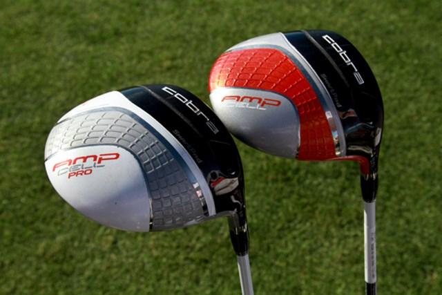 ギアニュース 2013年 PGAマーチャンダイスショー デモデー NO.04 AMPセルはロフト各が8.5度~11.5度まで調整可能。AMPセルプロはロフト各が7.5度~10.5度のプロモデル